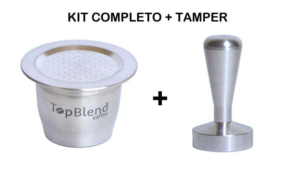 Kit completo Cápsula TopBlend + Tamper