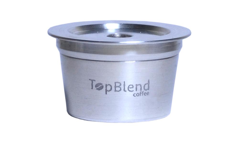 Cápsula Reutilizável TopBlend compatível com sistema Tres