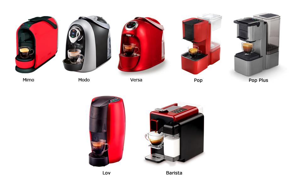 Compatibilidade com os modelos de Cafeteiras Tres: Mimo, Modo, Versa, Pop, Pop Plus, Lov e Barista
