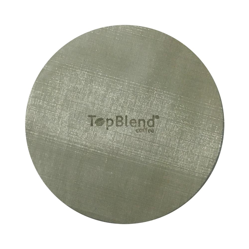 Filtro reutilizável Aeropress feito em aço inox marca TopBlend
