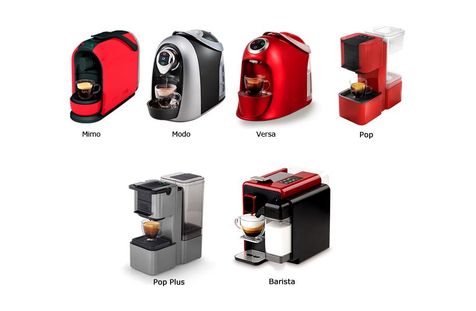 Cafeteiras compatíveis: Mimo, Modo, Versa, Pop, Pop Plus e Barista