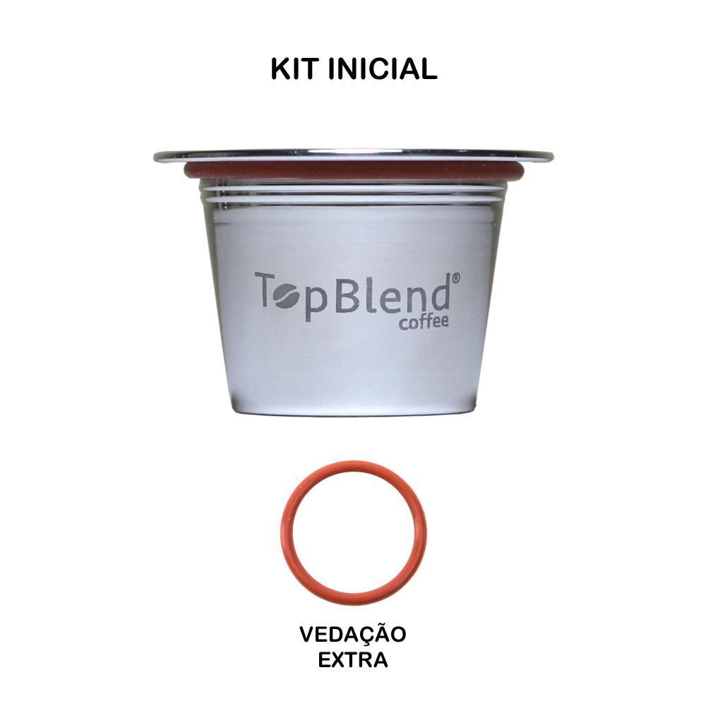 Kit Inicial de cápsula Reutilizável Nespresso TopBlend