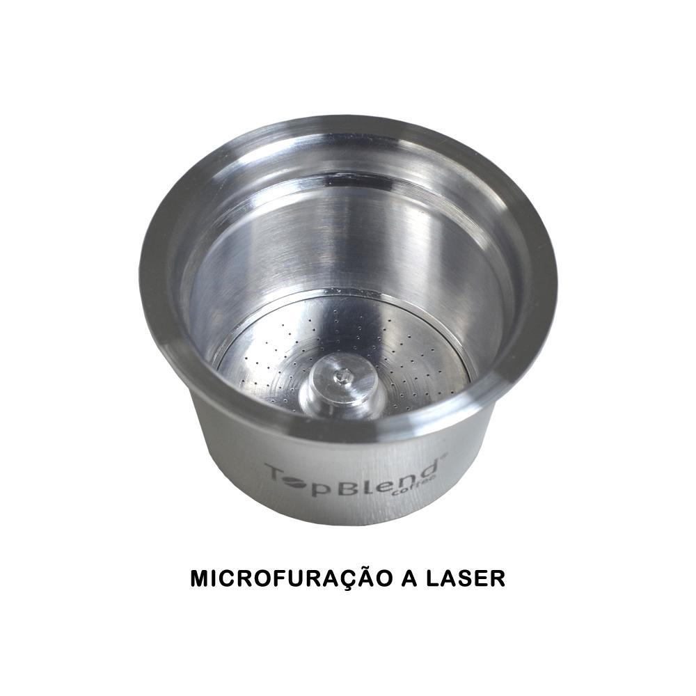 Sistema de microfuração a laser da cápsula TopBlend